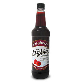 Da Vinci Fruit Innovations Raspberry Syrup, 750 ml