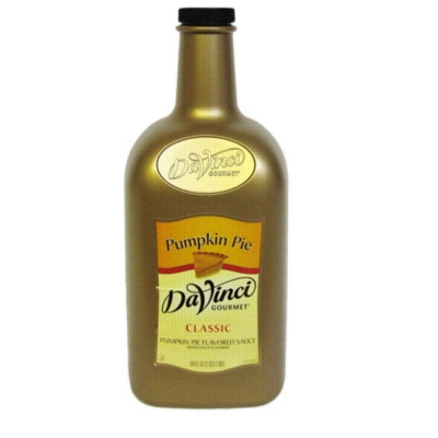 Da Vinci Pumpkin Pie Sauce, Half Gallon