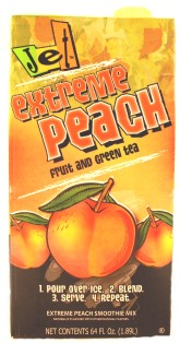 Jet Extreme Peach Smoothie Mix, 64 oz